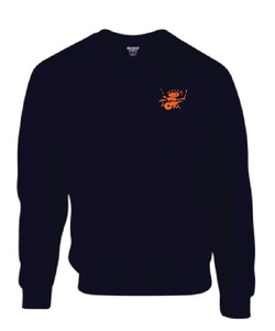 Image of King Tut's Drummer Logo sweatshirt (navy)