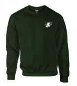 Image of King Tut's Drummer Logo sweatshirt (green)