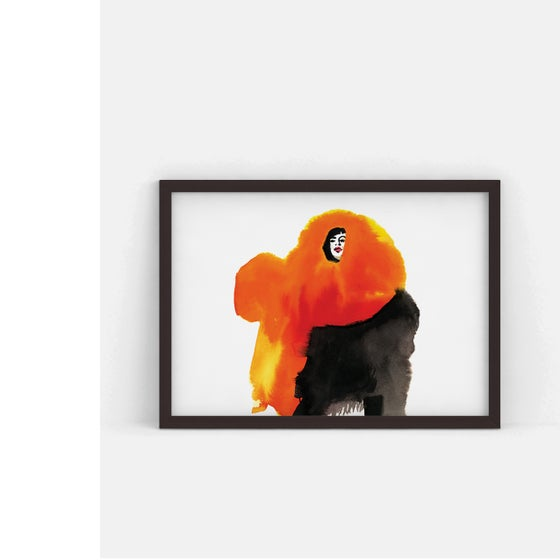 Image of The Big Red   limited edition fine-art print
