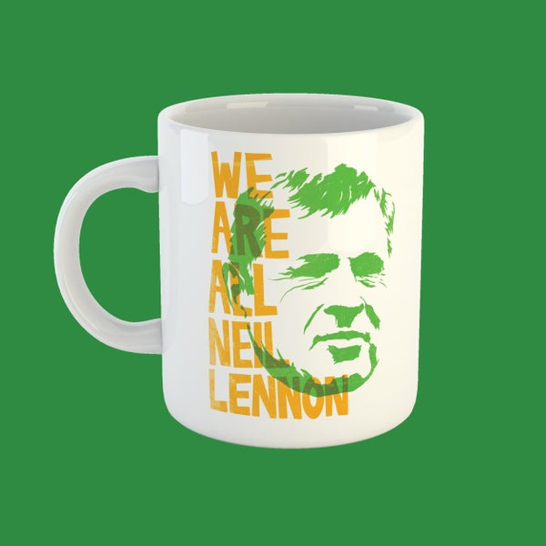 Image of We Are All Neil Lennon mug