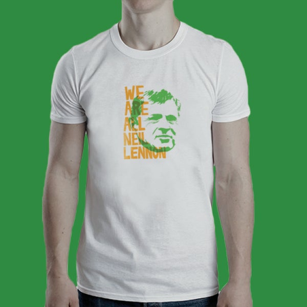Image of We Are All Neil Lennon t-shirt
