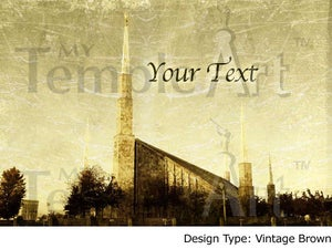 Image of Boise Idaho LDS Mormon Temple Art 001 - Personalized Temple Art