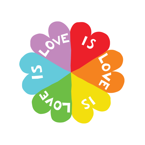 Image of Love is Love Sticker