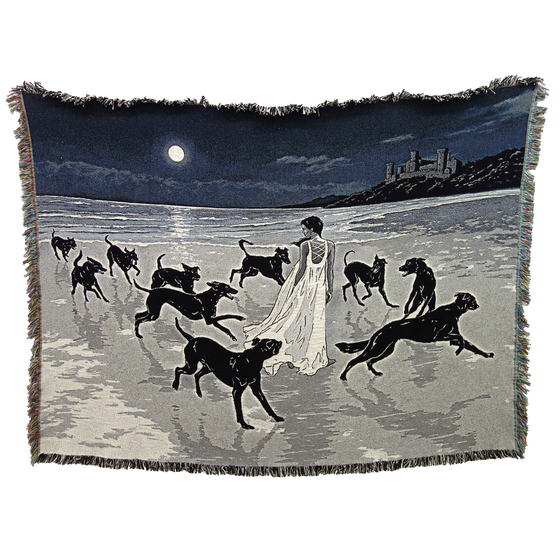 Image of 'HARBINGERS' Blanket