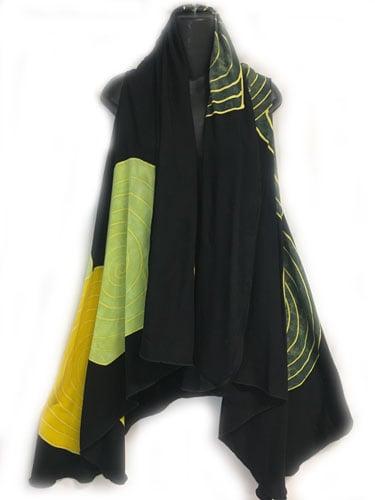 Image of Drama Vest - Batik - spirals