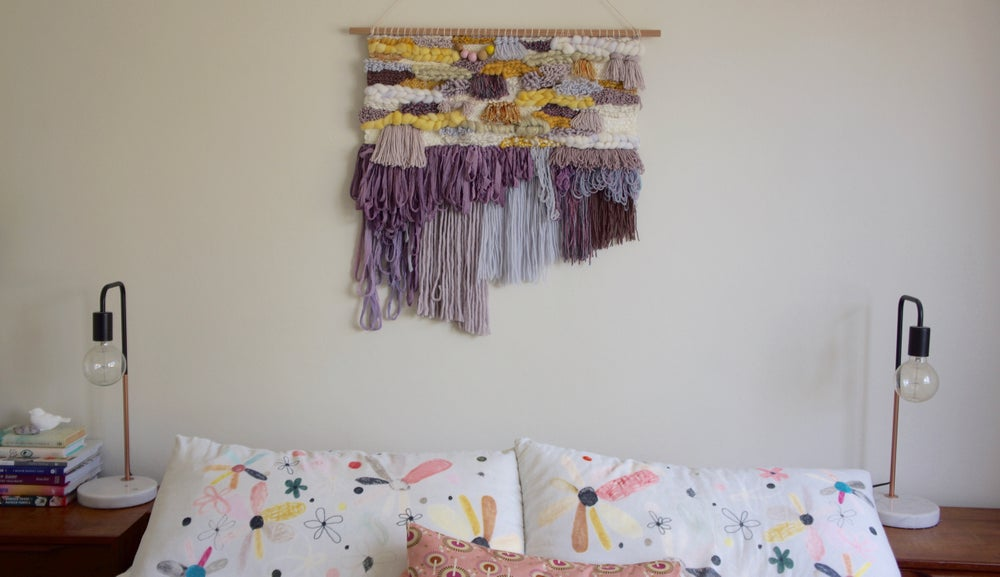Image of Extra Large Wall Hanging - VIOLA