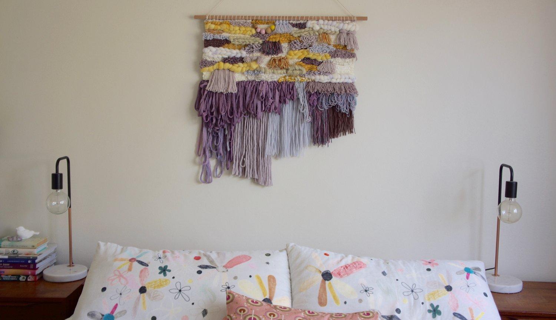 Image of Extra Large Wall Hanging - VIOLA