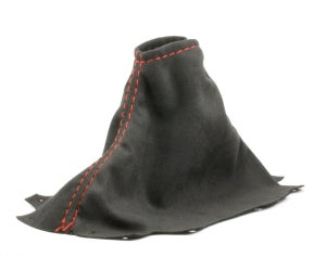 Image of Black Suede Shift/E-Brake Boots