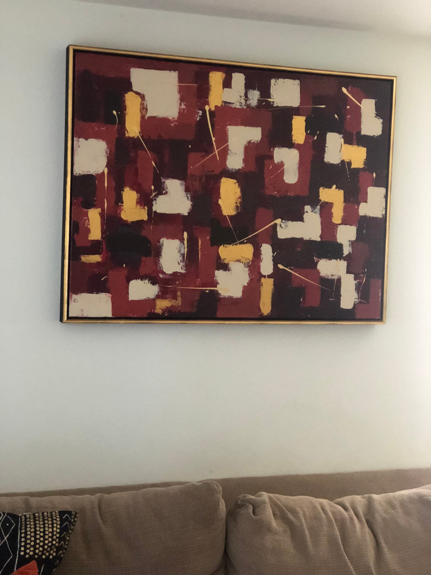 "Image of ""Goddess"" 36 x 48 Canvas"