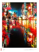 Image of 'Neon Waves' - NEW limited edition print