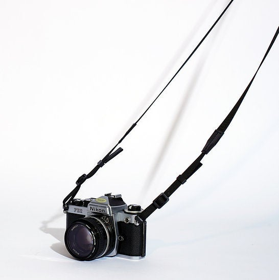 Image of SEWNSEWN - Chalon' Camera Strap (Black)