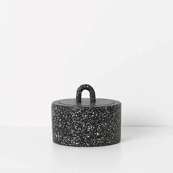 Image of Buckle jar by Ferm Living