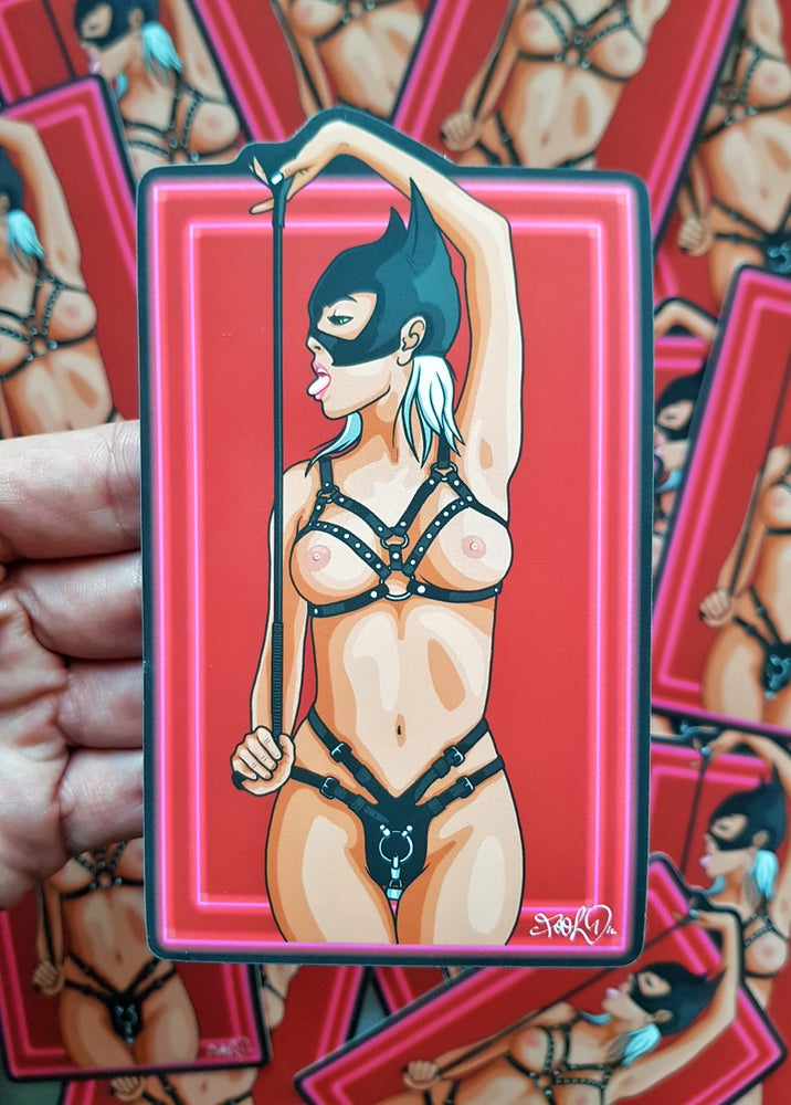 "Image of ""Catwoman"" Special limited sticker XL"