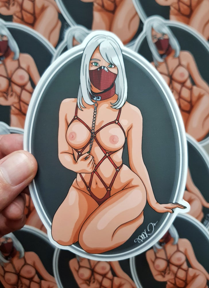 "Image of ""Tie me"" Special limited sticker XL"