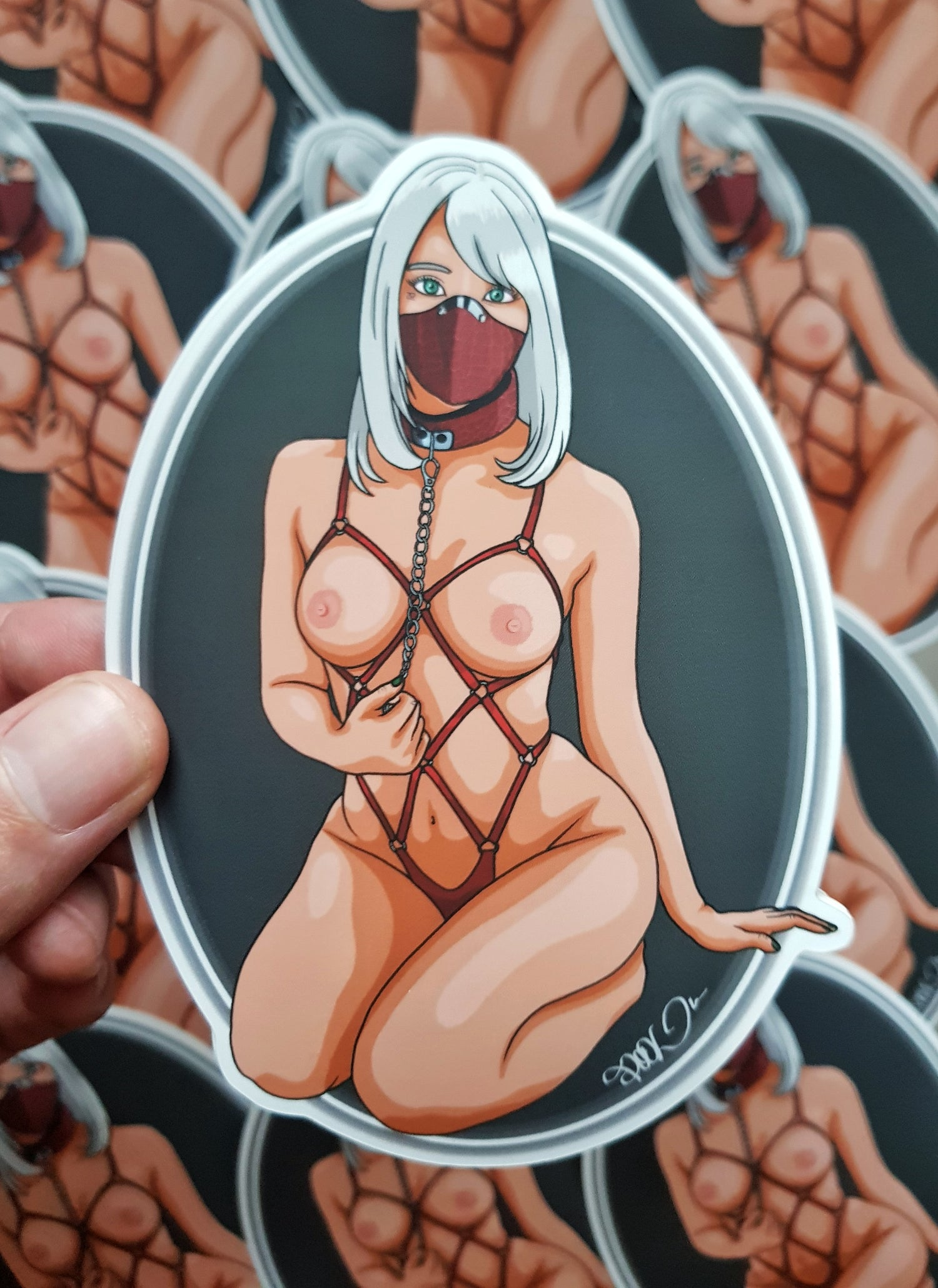 """Image of """"Tie me"""" Special limited sticker XL"""