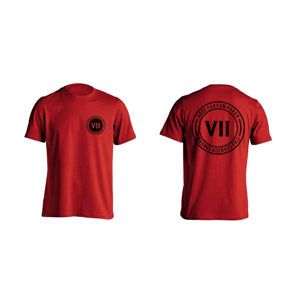 Image of VII RED T-SHIRT