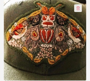 Image of  Embroidered Snapback / Preorder