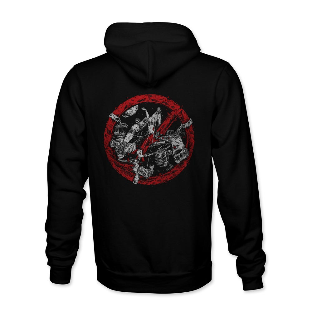 "Image of Confusion ""Breaking the Law"" hoody"