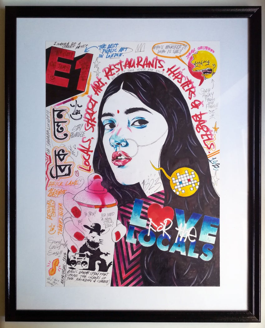 Image of MONIKER ART FAIR X MR.FRIVOLOUS X INNOVA ART - ORIGINAL