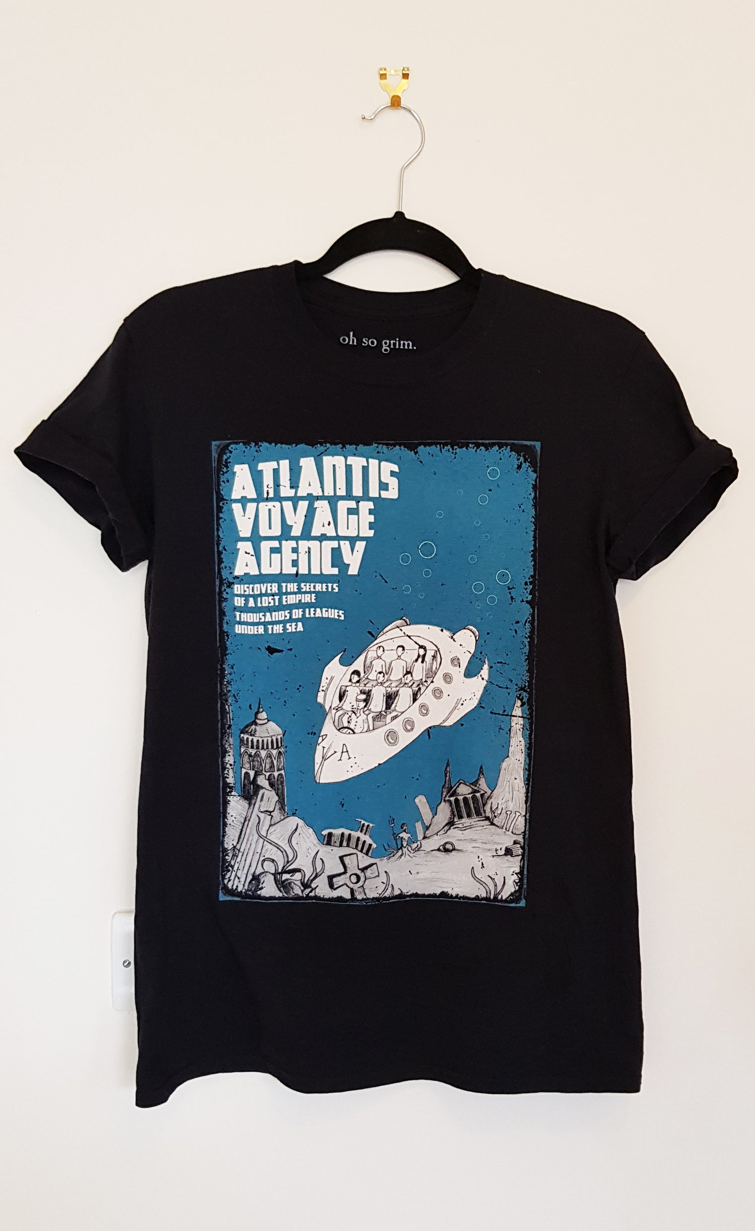 Image of Atlantis Voyage Agency T-Shirt
