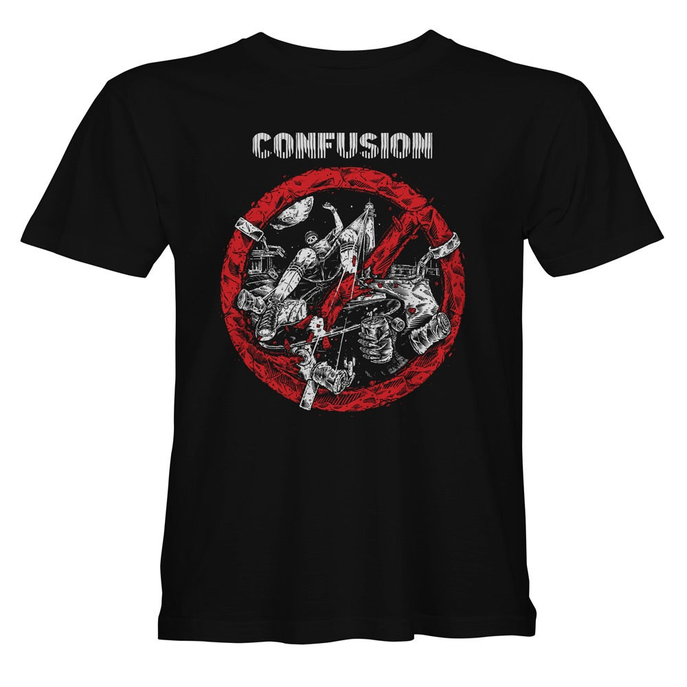 "Image of Confusion - ""Breaking the Law"" t-shirt [black]"