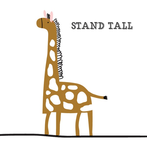 Image of Stand Tall Giraffe