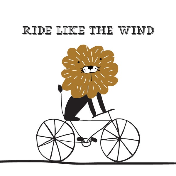 Image of Ride Like the Wind Lion