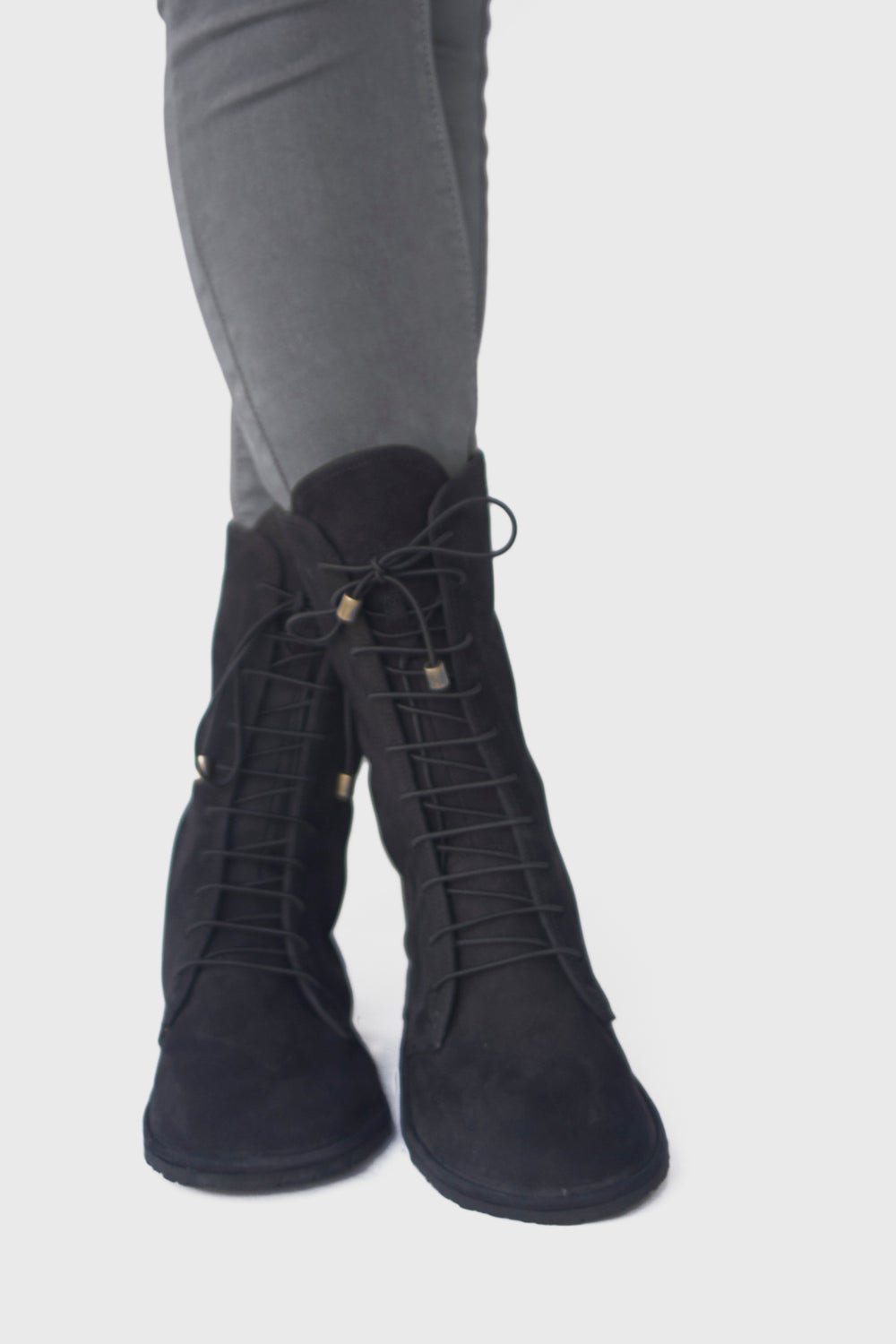 Image of Deco in Nubuck Black