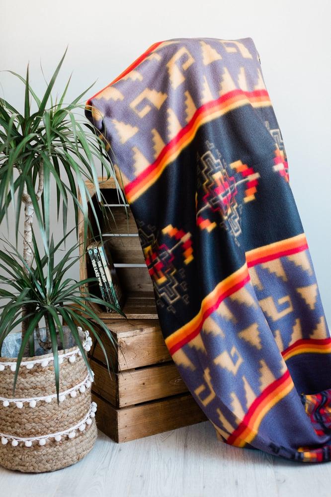 Image of Saguaro Camp Blanket