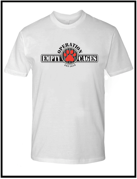 Image of Operation Empty Cages White Tee
