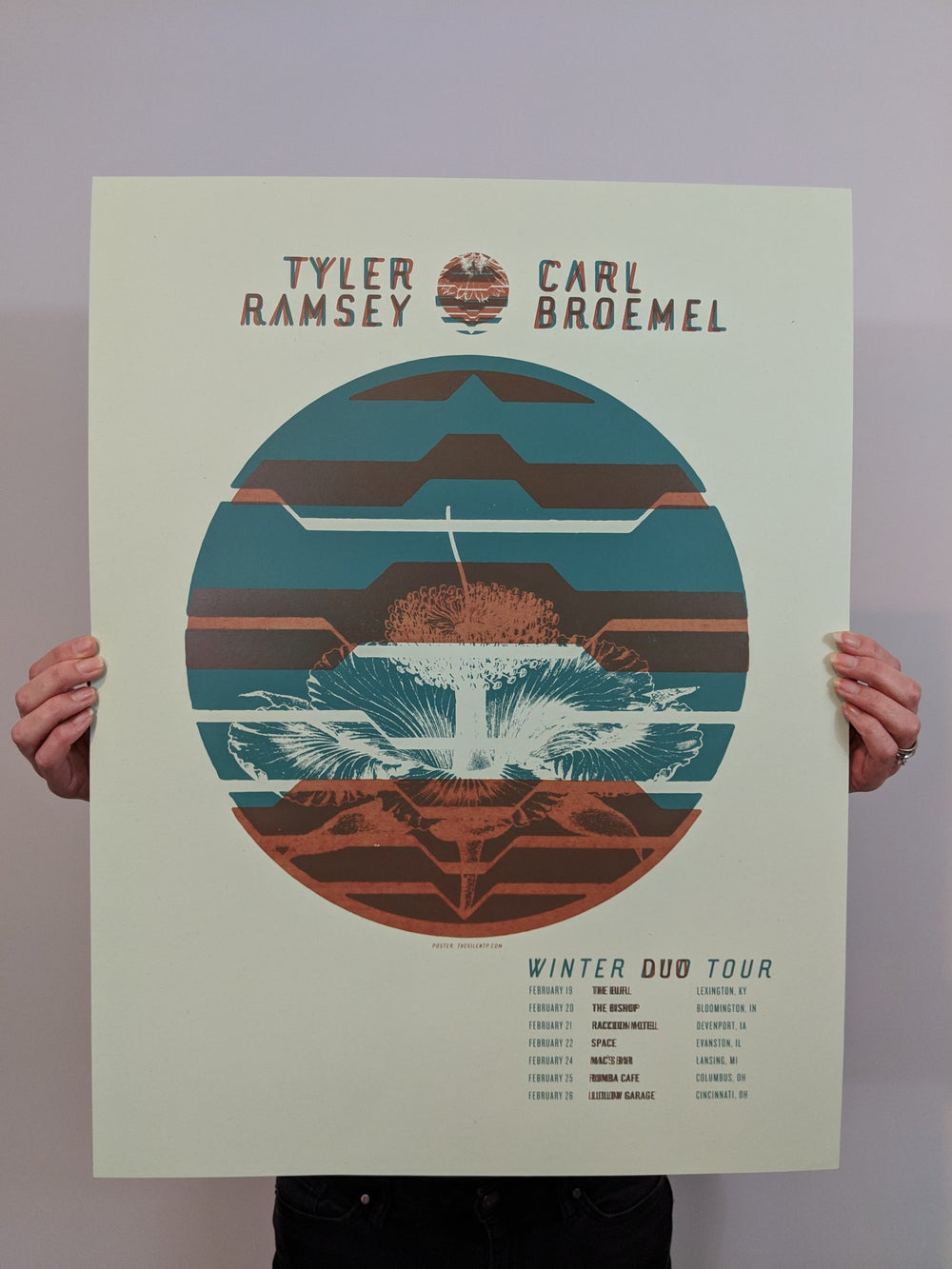 Tyler Ramsey and Carl Broemel Tour Poster