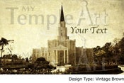 Image of Houston Texas LDS Mormon Temple Art 001 - Personalized LDS Temple Art