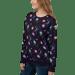 "Image of ""Space Kitties"" Unisex Sweatshirt"