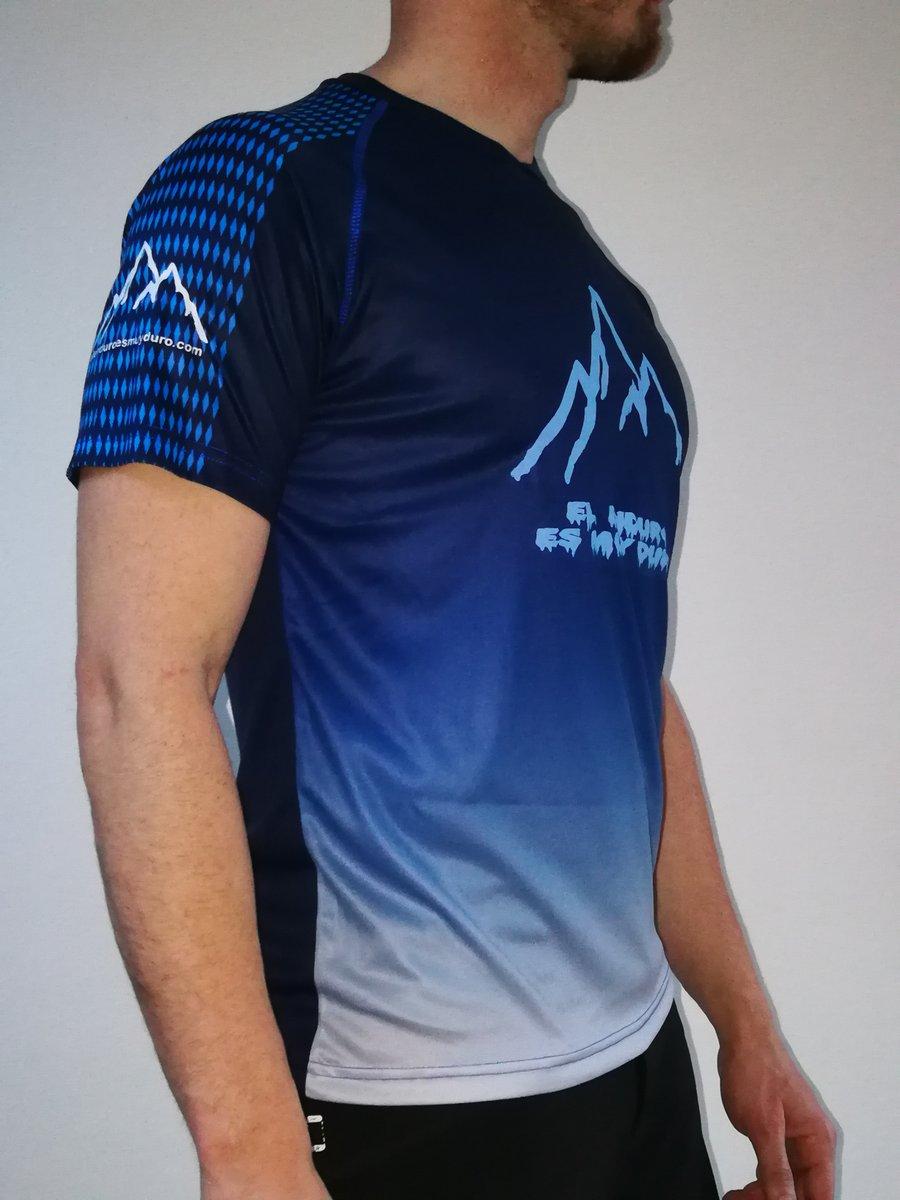 Image of Camiseta técnica manga corta Azul