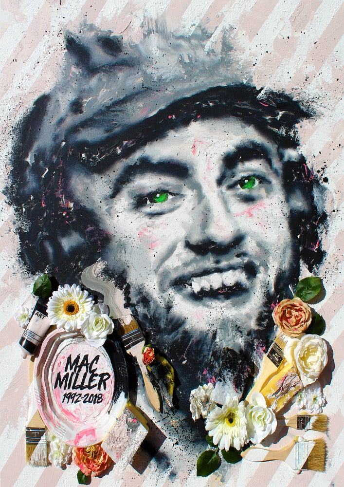 Image of MAC MILLER (Limited Edition Print)