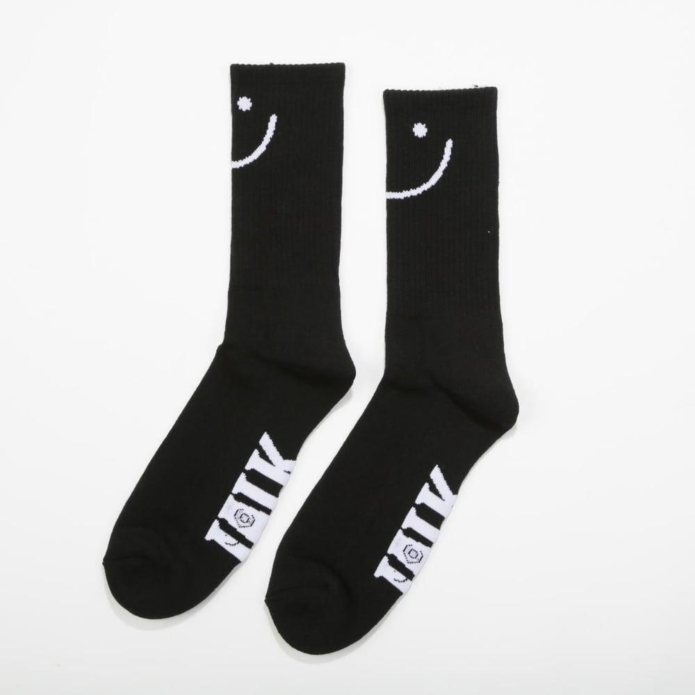 Image of Talk Socks 3 Pack Black
