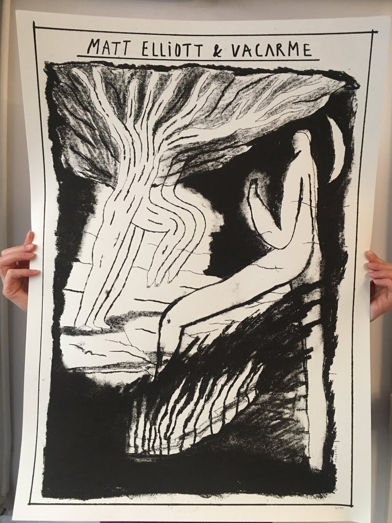 Image of 'Matt Elliott & VACΛRME' poster