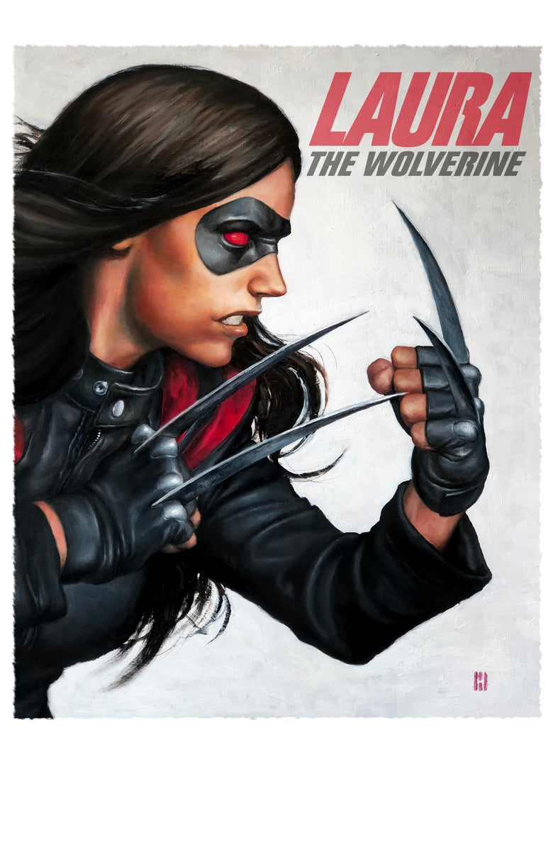 Image of Laura: The Wolverine - Remarqued