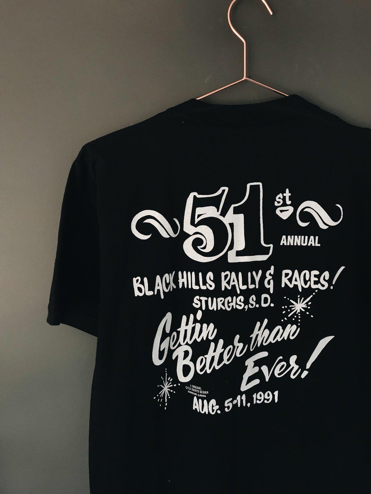 Image of Sturgis - I Survived Black Hills Rally Races -  1991 Shirt