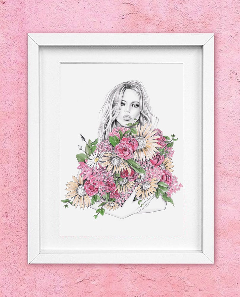Image of FLORIST - ORIGINAL ARTWORK A3