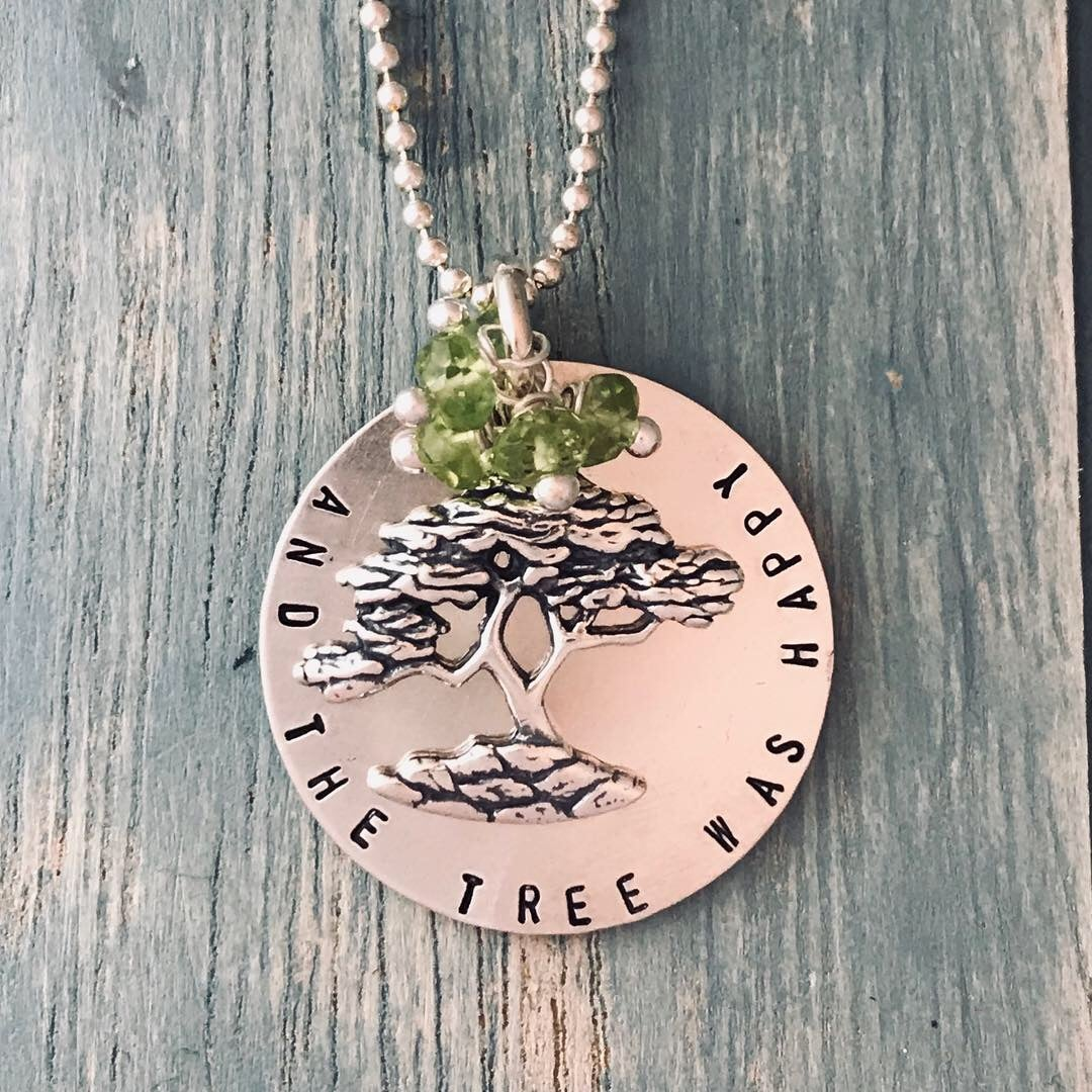 Image of And the Tree Was Happy Necklace