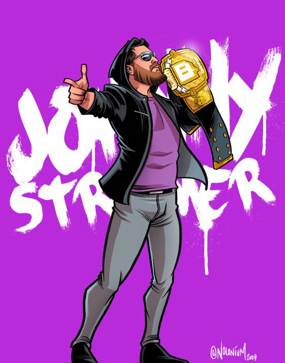 Image of Custom Wrestler Illustration