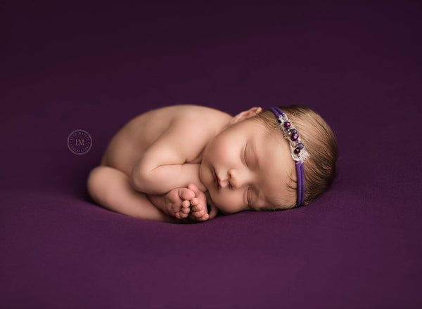 Image of Sawyer Backdrop - Purple