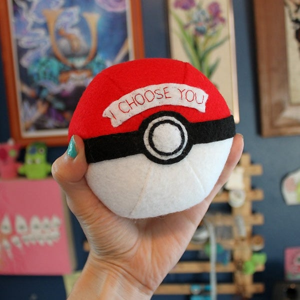 Image of Custom Pokeball- I Choose You!
