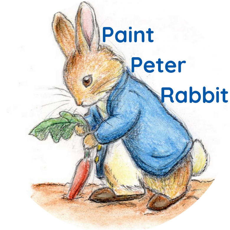 Image of Paint a Peter Rabbit! Wednesday 17th April 1- 4