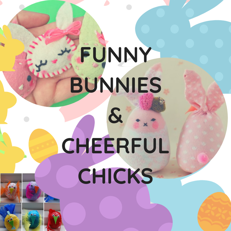 Image of Funny Bunnies/ Cheerful Chicks
