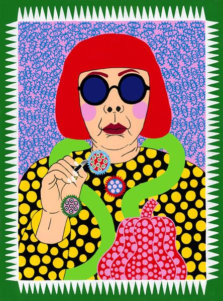 Image of Yayoi Giclee Print
