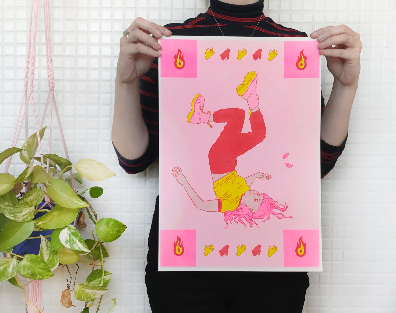 Image of Ophidia 2 — Risograph Print