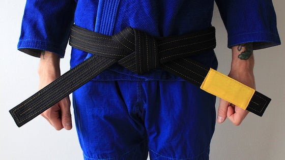 Image of (PRE ORDER ) JIU-JITSU OF ONE 結束 BLACK BELT