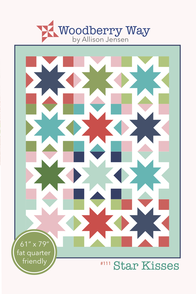 Image of Star Kisses PAPER Pattern